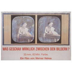Film Before Film 1986 German A1 Film Poster