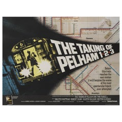 "Film Poster ""The Taking of Pelham One Two Three"""