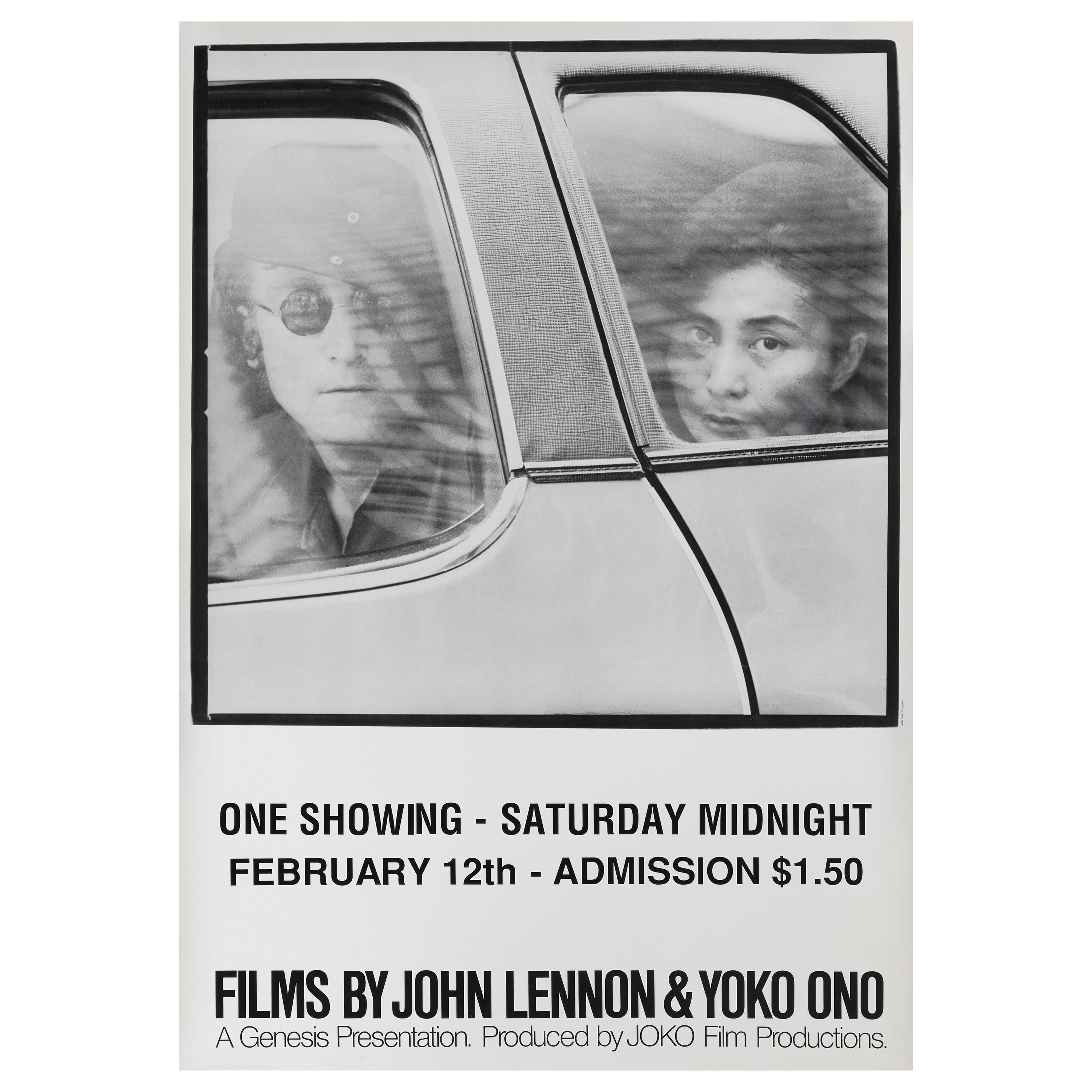 Films By John Lennon And Yoko Ono Original Us Film Poster For Sale At 1stdibs