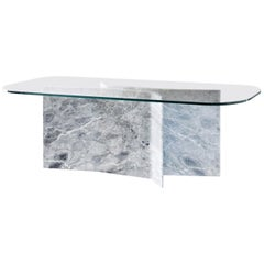 Filo Dining Table with Versilys Marble Base