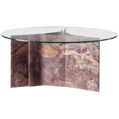 Filo Limited Edition Dining Table with Versailles Marble Base