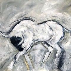 El Toro, Painting, Acrylic on Canvas