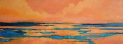 Golden Light, Painting, Acrylic on Canvas