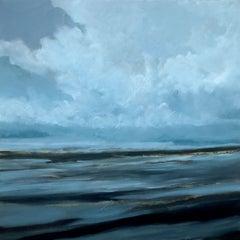 Night Sea, Painting, Acrylic on Canvas