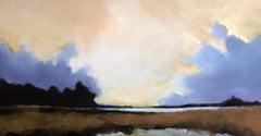 Salt Water Marsh, Painting, Acrylic on Canvas