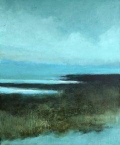 Silent Sea, Painting, Acrylic on Canvas