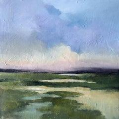 Summer Marsh, Painting, Acrylic on Canvas