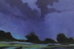 Summer Rain, Painting, Acrylic on Canvas