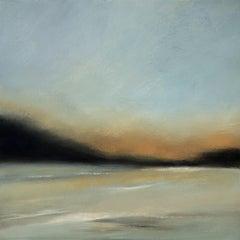 Sunset Reflection, Painting, Acrylic on Canvas