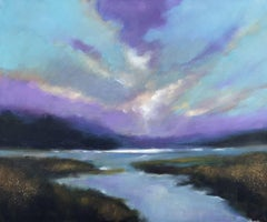 Twilight, Painting, Acrylic on Canvas