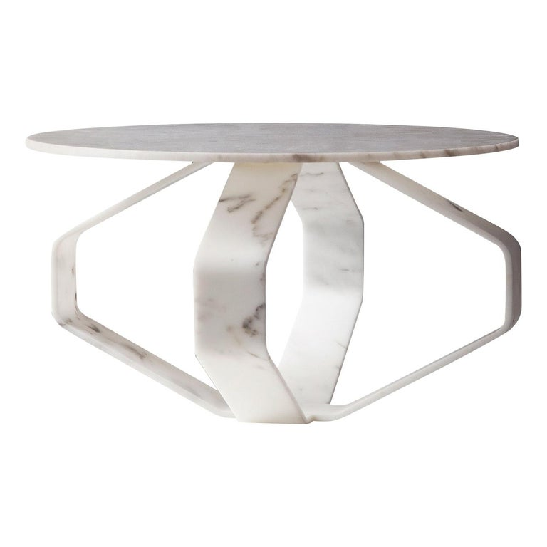 Filone White Coffee Table For Sale