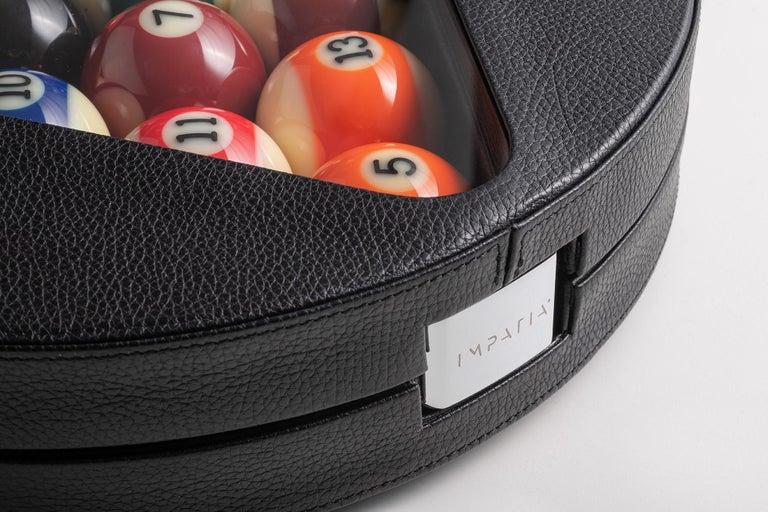 Modern Filotto Billiard Game Set Box by Impatia For Sale