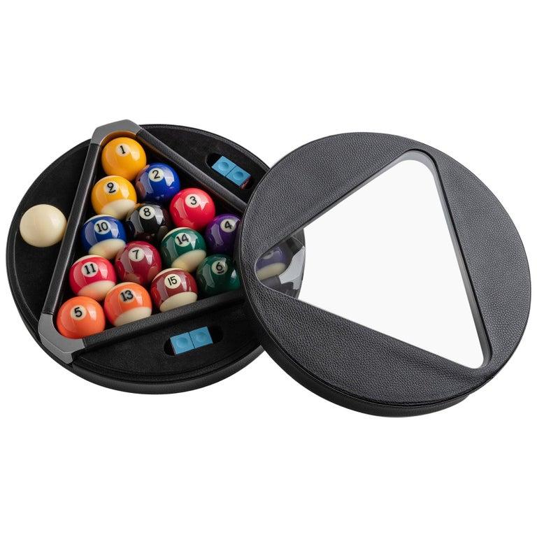 Filotto Billiard Game Set Box by Impatia For Sale
