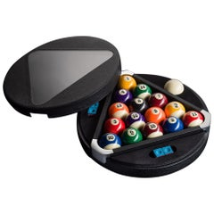 Filotto Pool/ Billiard Game Set, Contemporary Design Accessory by Impatia