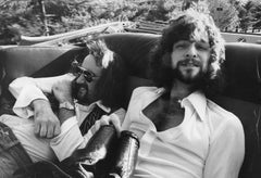 John McVie and Bob Welch in Backseat Vintage Original Photograph
