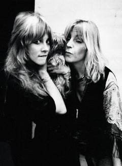 Stevie Nicks and Christine McVie of Fleetwood Mac Vintage Original Photograph