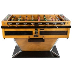 """Finale """"Babyfoot"""" Table Football, Montbeliard, France, circa 1950"""