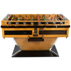 "Finale ""Babyfoot"" Table Football, Montbeliard, France, circa 1950"