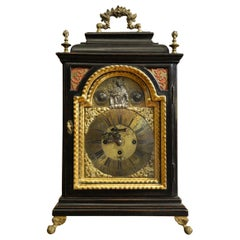 Fine 18th Century Bracket Clock