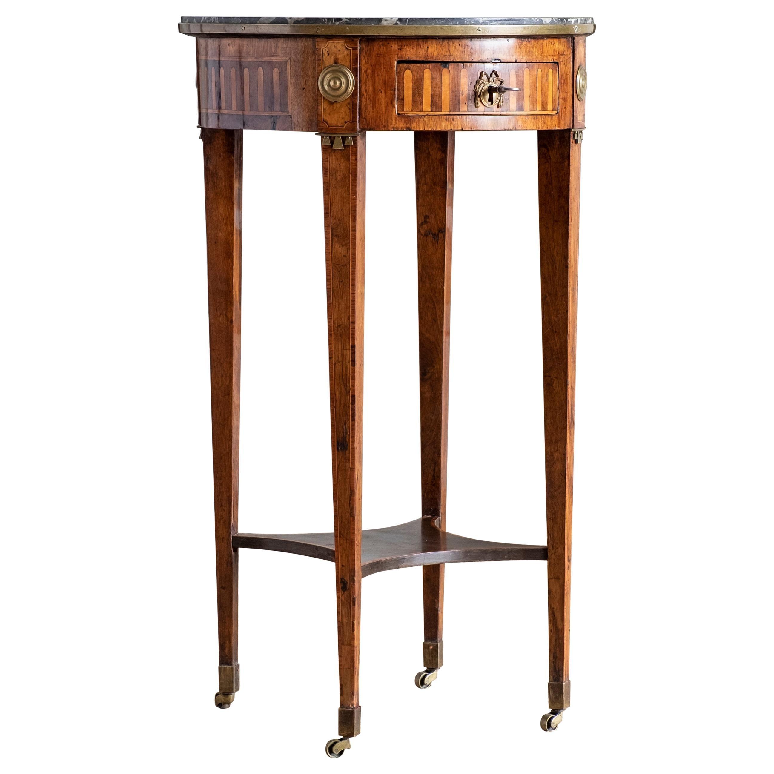 Fine 18th Century Gustavian Side Table