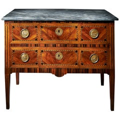 Fine 18th Century Italian Parquetry Commode