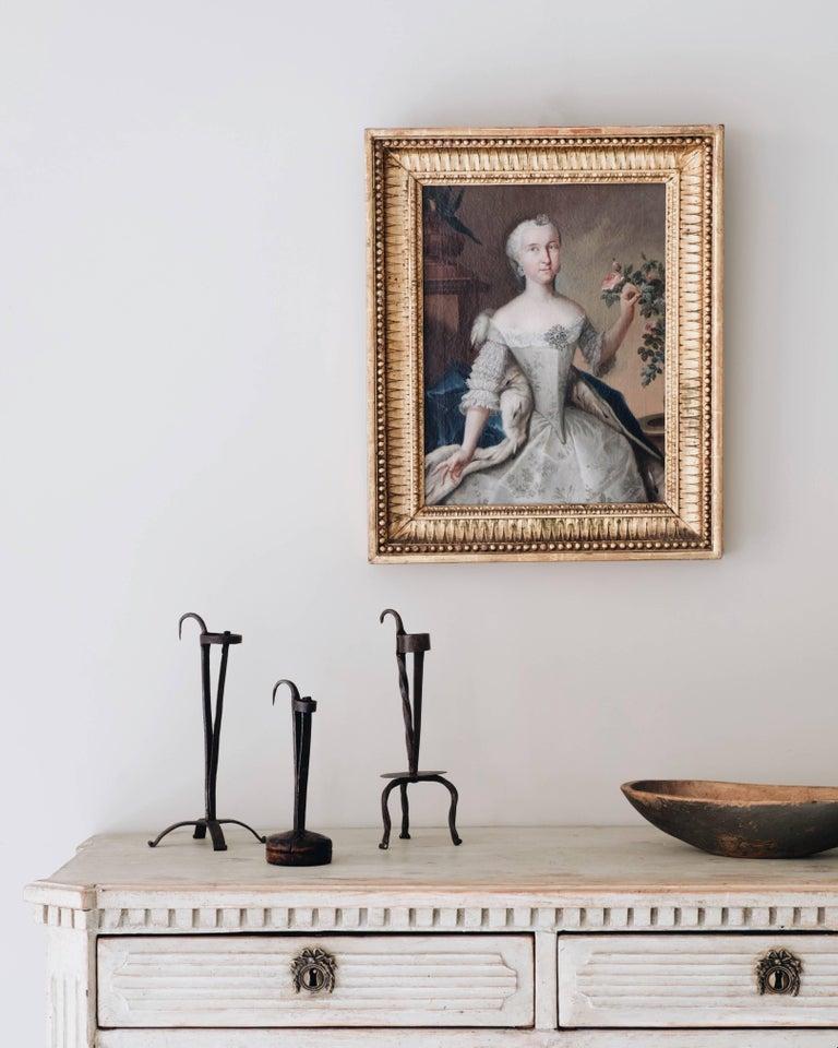 Swedish Fine 18th Century Royal Portrait For Sale
