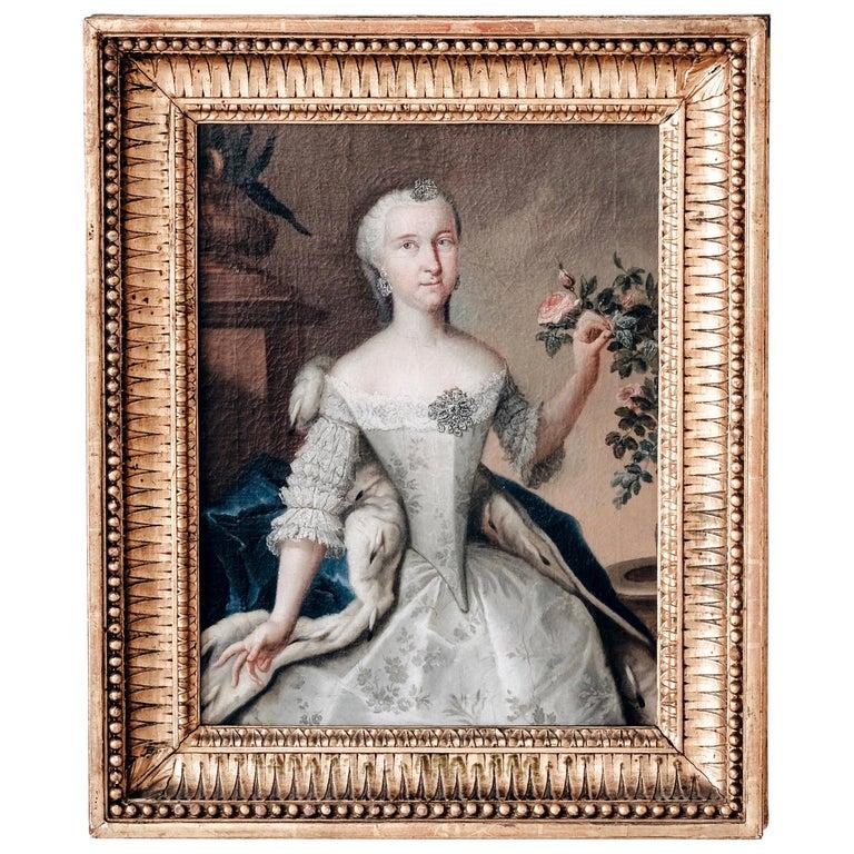 Fine 18th Century Royal Portrait For Sale