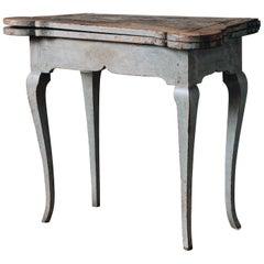 Fine 18th Century Swedish Rococo Table