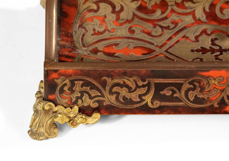 Brass Fine 19th Century Boulle Desk Set
