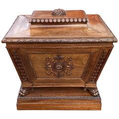 Fine 19th Century English Regency Mahogany Cellarette