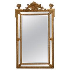 Fine 19th Century Gilded Wall Mirror