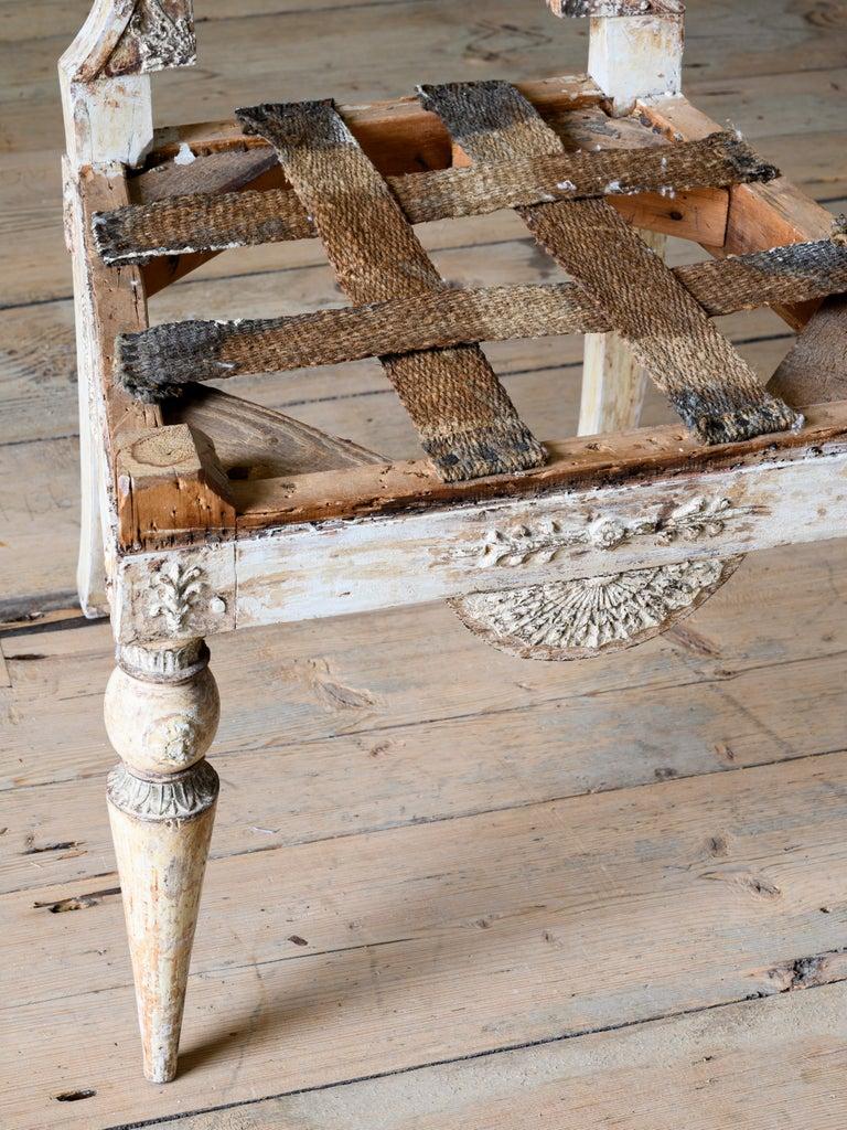 Fine 19th Century Gustavian Chair For Sale 4