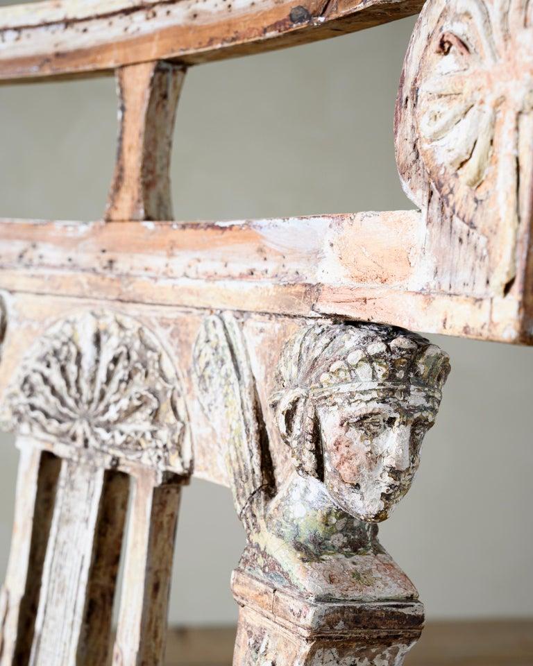 Swedish Fine 19th Century Gustavian Chair For Sale