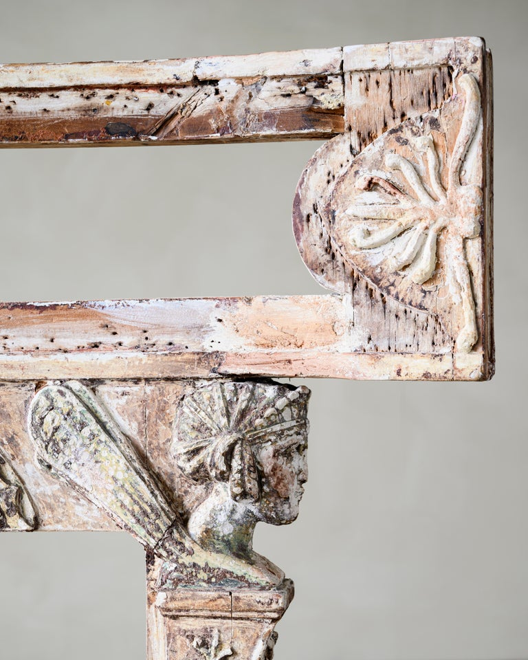 Hand-Crafted Fine 19th Century Gustavian Chair For Sale
