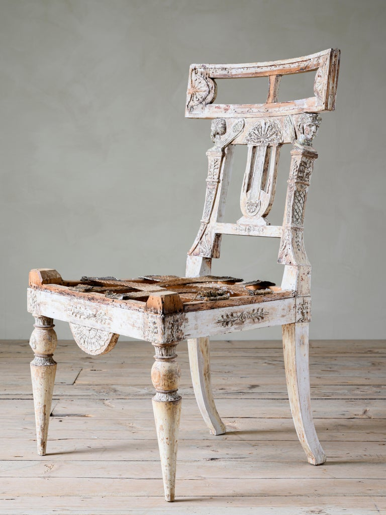 Fine 19th Century Gustavian Chair For Sale 3
