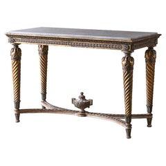 Fine 19th Century Gustavian Console Table