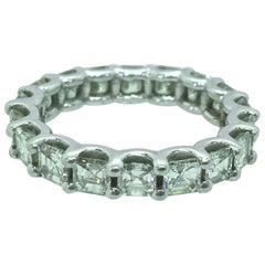 Fine 5.00 Carat Anniversary Diamond Eternity Band Ring