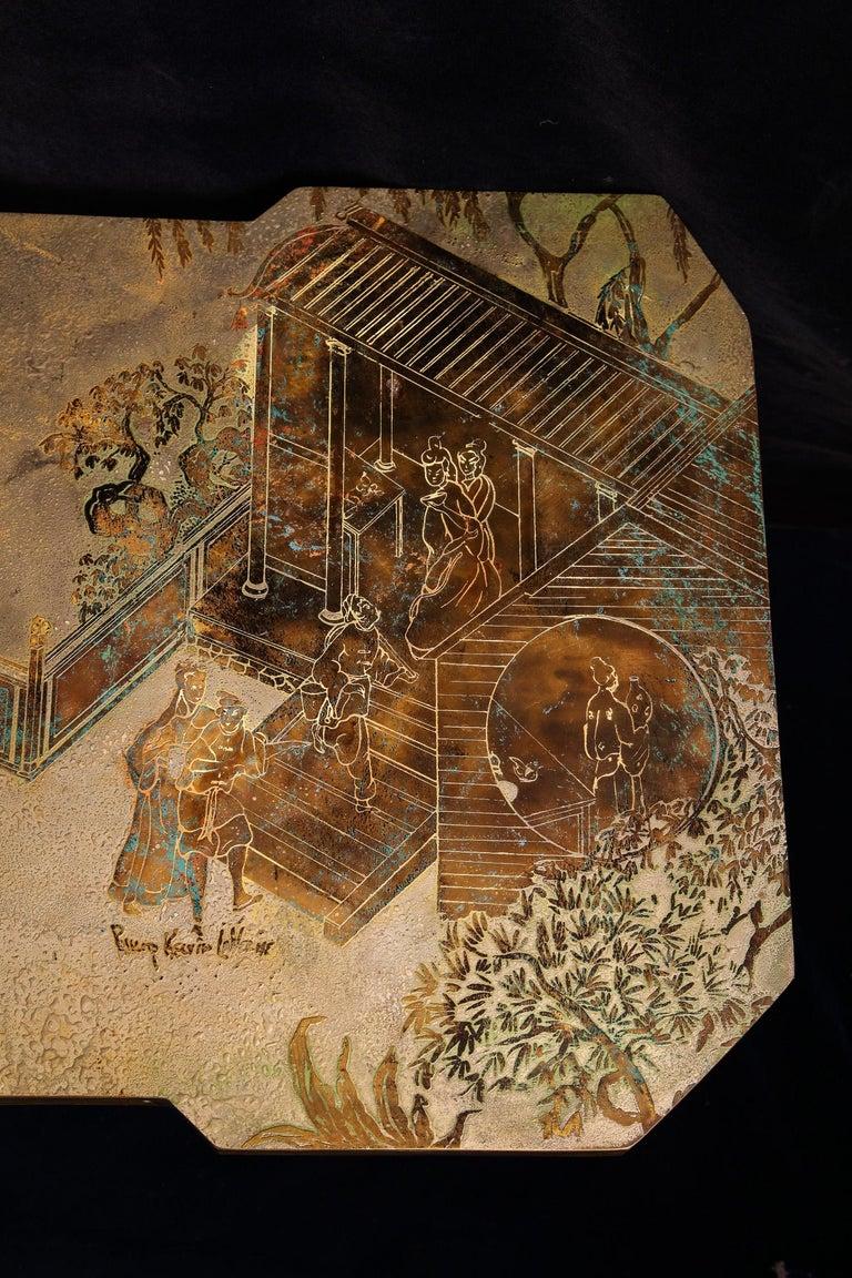 Fine American Philip & Kelvin Laverene Rectangular Chinoiserie Coffee Table For Sale 3