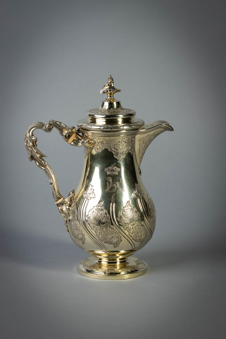 Engraved with a Marquess's coronet. Marked: London, 1834 Maker: Paul Storr.