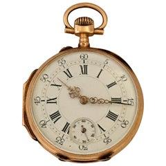 Fine Antique 14 Karat Gold Pocket Watch