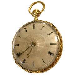 Fine Antique 18 Karat Gold Quarter Repeater Lightweight Pocket Watch