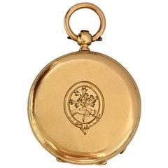 Fine Antique 18 Karat Gold Fob / Pocket Watch