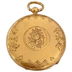 Fine Antique 18 Karat Gold Pocket / Fob Watch