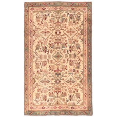 Fine Antique Agra Indian Rug, Hand Knotted, circa 1890