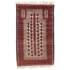 Fine Antique Balouch Persian Rug, Hand Knotted, circa 1900