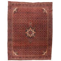 Fine Antique Bijar 'Bidjar' Persian Rug, Hand Knotted, circa 1900