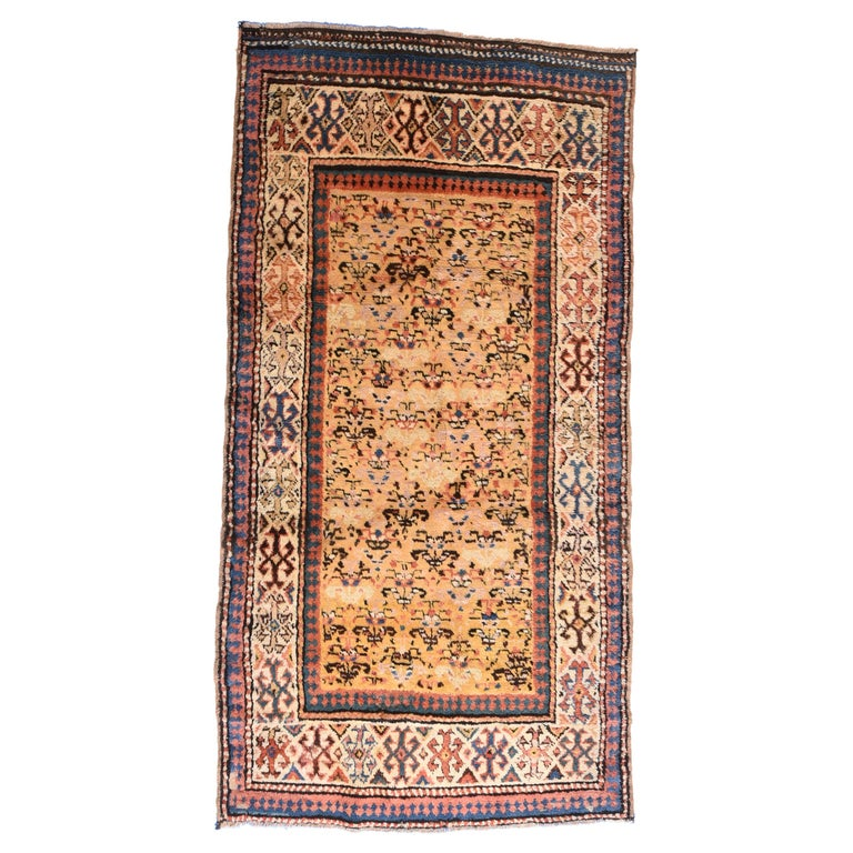 Fine Antique Caucasian Rug, Hand Knotted, circa 1900 For Sale