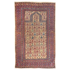 Fine Antique Daghestan Shirvan Rug, Hand Knotted, circa 1890