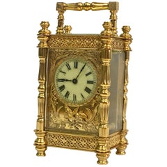Metal Carriage Clocks and Travel Clocks