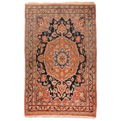 Fine Antique Doroksh Persian Rug, Hand Knotted, circa 1890